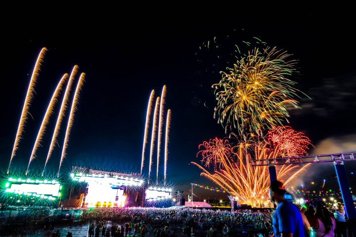 EDC, EDC New York, EDC NY, EDM, Electric Daisy Carnival, Music, Pyro