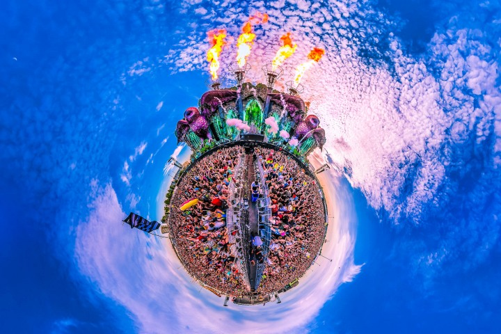EDC, EDC New York, EDM, Electric Daisy Carnival, Fire, Music