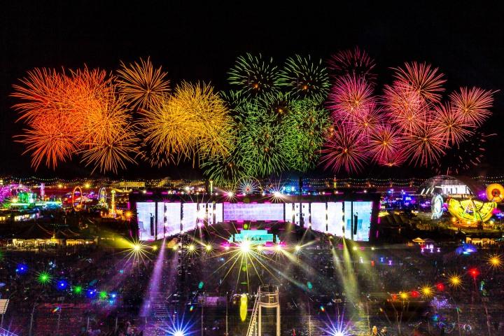 EDC, EDC Las Vegas, EDC LV, EDM, Electric Daisy Carnival, Music, Pyro