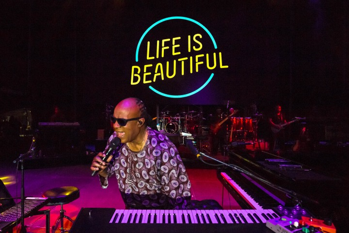AGP Favorite, LIB, Life is Beautiful, Music, pop, Stevie Wonder