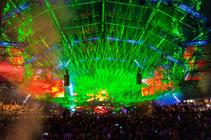 EDM, Lazers, LIB, Life is Beautiful, Music
