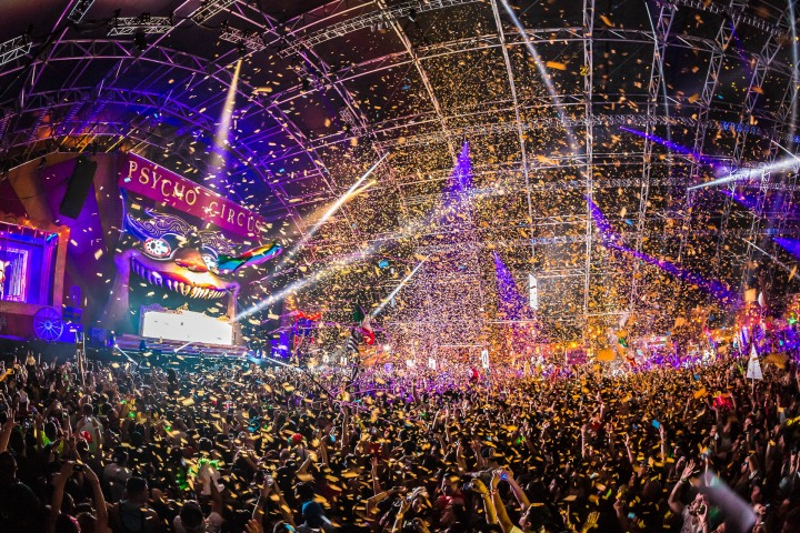 Confetti, EDM, Escape, Music