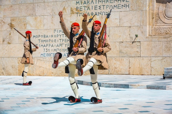 Athens, Europe, Greece, Guards, Travel