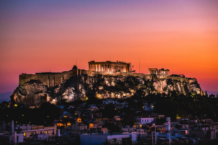 AGP Favorite, Athens, Europe, Greece, Parthenon, Sunset, Temple, Travel