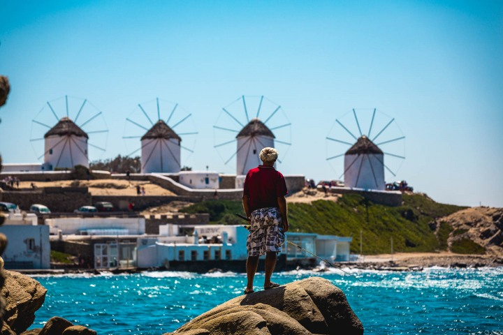 AGP Favorite, Europe, Greece, Mykonos, Travel, Windmills