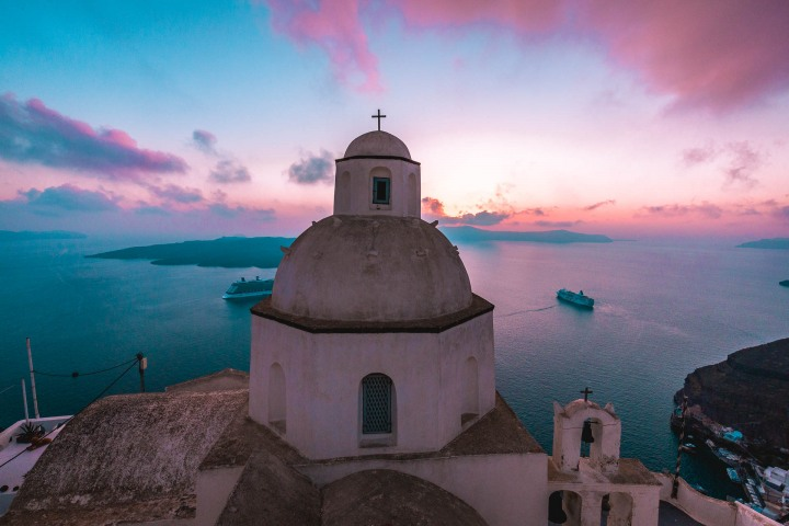AGP Favorite, Europe, Greece, Oia, Santorini, Sunset, Travel