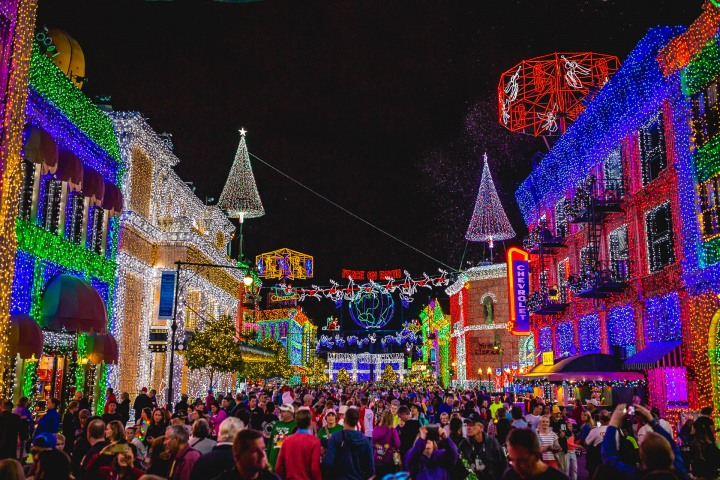 AGP Favorite, Disney, Florida, North America, Orlando, The Osborne Family Spectacle of Dancing Lights, Travel, United States