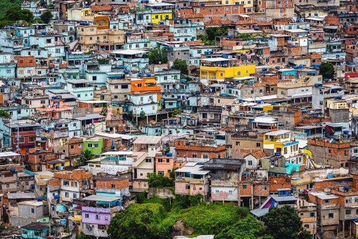 Aerial Photography, Brazil, Favela, Rio de Janeiro, South America, Travel