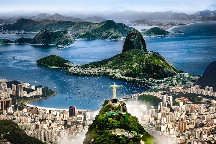 Aerial Photography, AGP Favorite, Brazil, Christ the Redeemer, Rio de Janeiro, South America, Travel