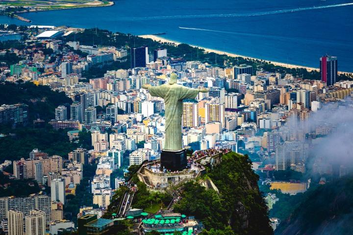 Aerial Photography, AGP Favorite, Brazil, Christ the Redeemer, Rio de Janeiro, South America, Travel
