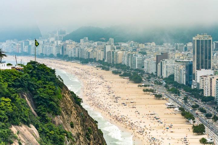 Aerial Photography, AGP Favorite, Brazil, Copacabana Beach, Rio de Janeiro, South America, Travel