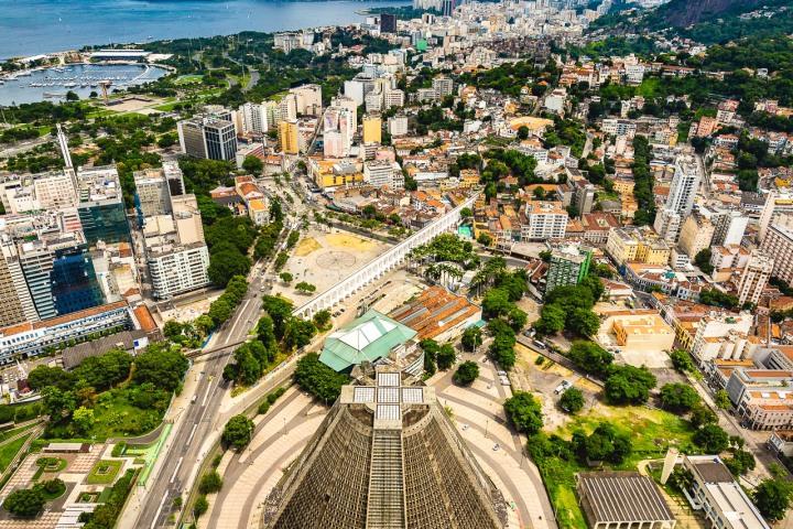 Aerial Photography, AGP Favorite, Brazil, Catedral Metropolitana de São Sebastião, Rio de Janeiro, South America, Travel