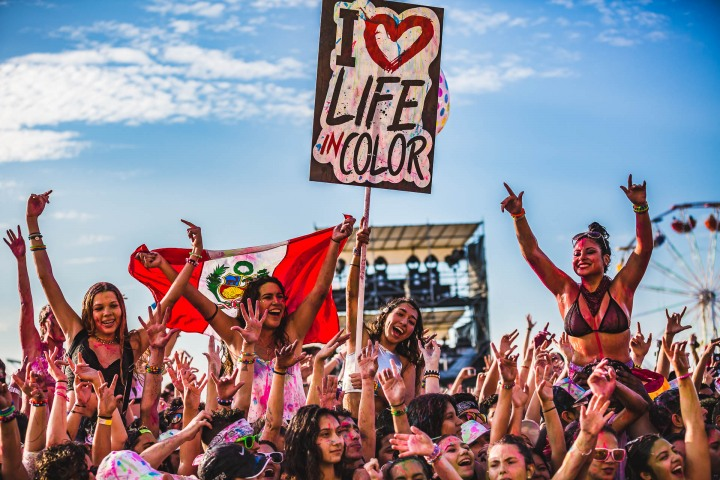 EDM, Life In Color, Music