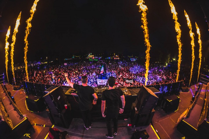 EDC, EDC Mexico, EDM, Electric Daisy Carnival, Fire, Music