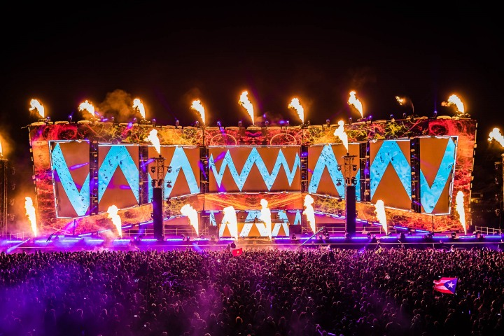 EDC, EDC New York, EDC NY, EDM, Electric Daisy Carnival, Fire, Music