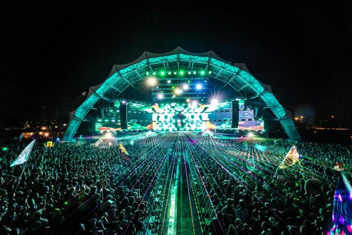 EDM, Lazers, Music, SMF, SunSet Festival