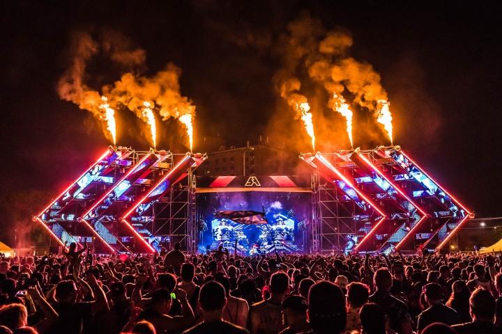 EDM, Fire, Music, SAMF, Spring Awakening Festival