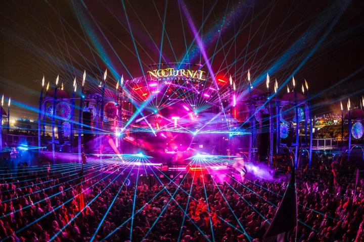 EDM, Lazers, Music, Nocturnal Wonderland