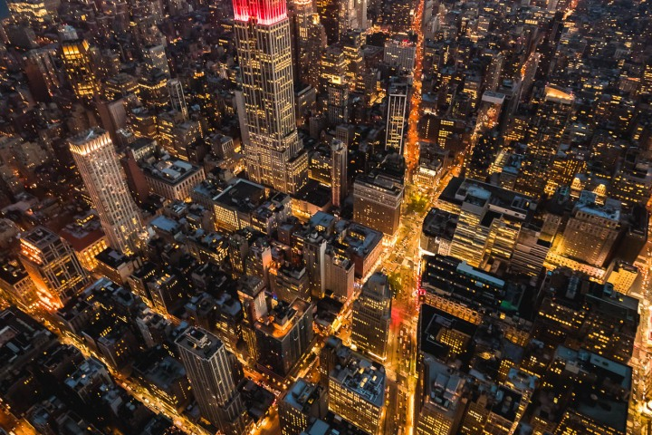 Aerial Photography, Empire State Building, new York, New York City, North America, NYC, Times Square, Travel, United States