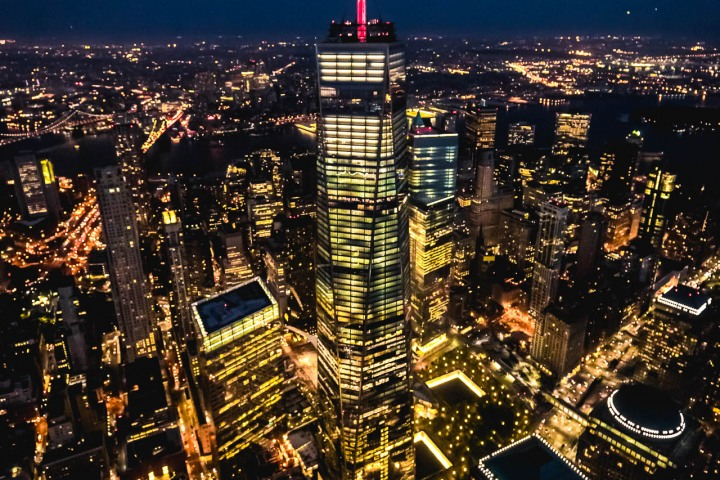 Aerial Photography, Manhattan, new York, New York City, North America, NYC, One World Trade Center, Skyline, Travel, United States