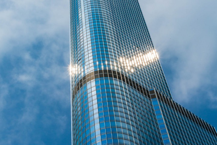 Chicago, Illinois, North America, Travel, Trump Tower, United States