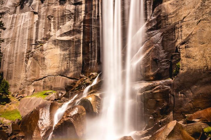 California, Long Exposure, North America, Travel, United States, Vernal Fall, Yosemite National Park