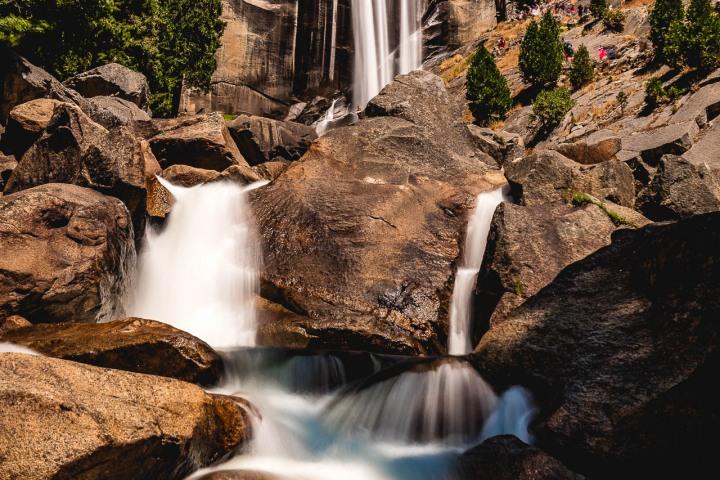 AGP Favorite, California, Long Exposure, North America, Travel, United States, Vernal Fall, Yosemite National Park