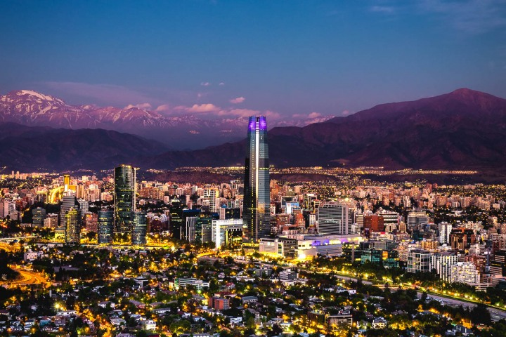 AGP Favorite, Chile, Downtown, Gran Torre Santiago, Santiago, Skyline, South America, Travel