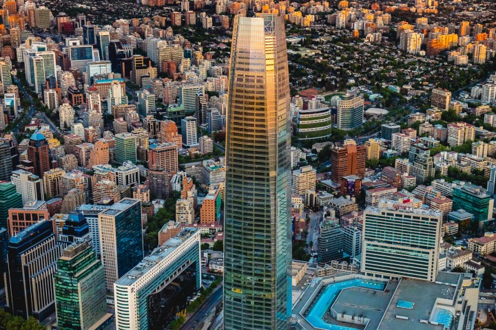 Aerial Photography, AGP Favorite, Chile, Gran Torre Santiago, Santiago, South America, Travel