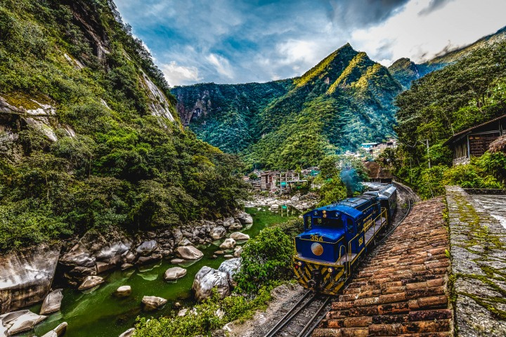 Aguas Calientes, Cusco, Mountains, Peru, South America, Travel