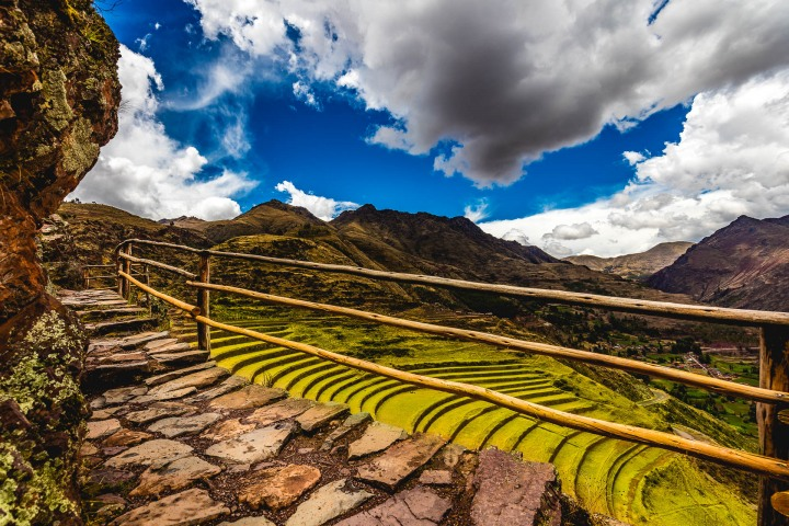 Cusco, Ollantaytambo, Peru, Pisac, South America, Terraced fields, Travel