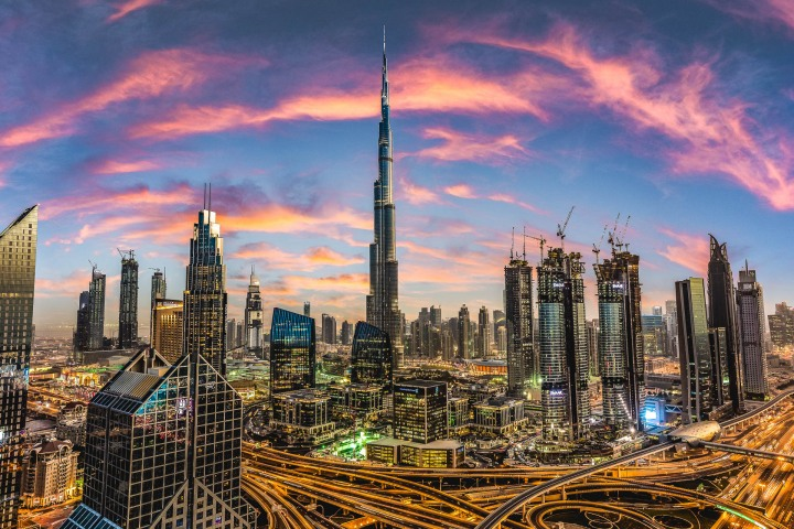 AGP Favorite, Burj Khalifa, Dubai, Middle East, Skyline, Sunset, Travel, United Arab Emirates