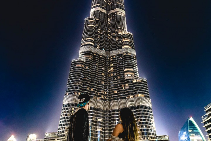 Burj Khalifa, Dubai, Middle East, Travel, United Arab Emirates