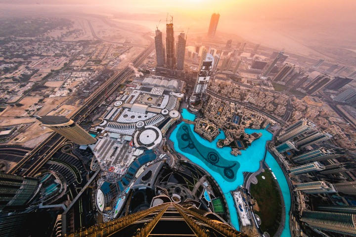 Atop the Burj Khalifa, Burj Khalifa, Middle East, Travel, United Arab Emirates