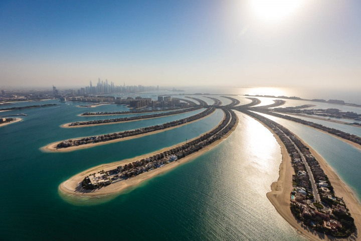 Aerial Photography, Dubai, Middle East, The Palm, Travel, United Arab Emirates
