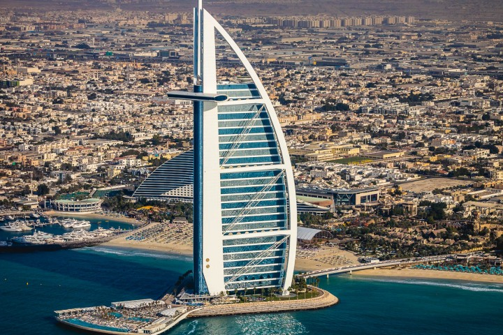 Aerial Photography, AGP Favorite, Burj Al Arab, Dubai, Middle East, Travel, United Arab Emirates