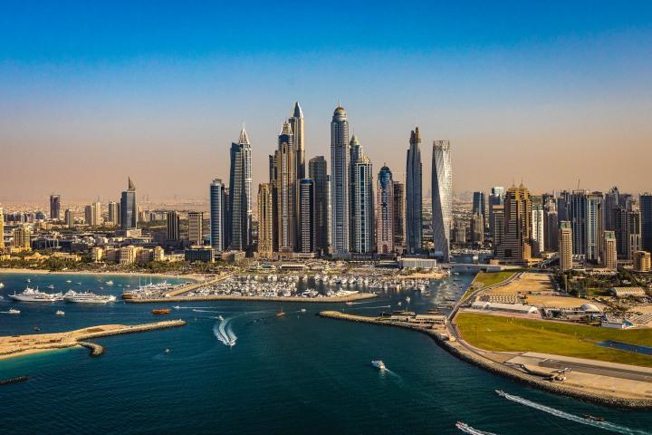 Aerial Photography, Dubai, Marina, Middle East, Skyline, Travel, United Arab Emirates