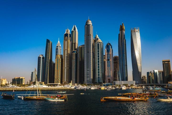 Dubai, Marina, Middle East, Skyline, Travel, United Arab Emirates