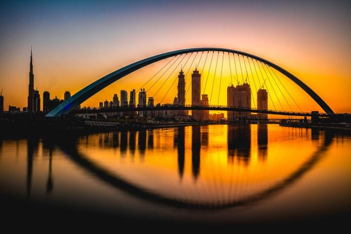 AGP Favorite, Burj Khalifa, Dubai, Middle East, Skyline, Sunset, Travel, United Arab Emirates