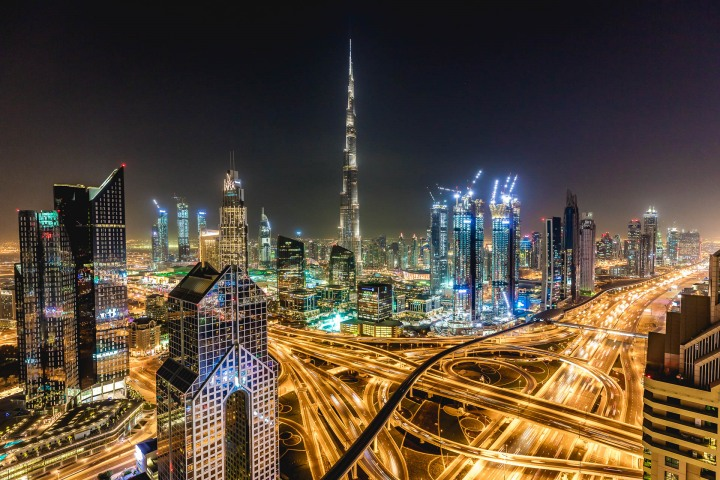 AGP Favorite, Burj Khalifa, Dubai, Long Exposure, Middle East, Skyline, Travel, United Arab Emirates