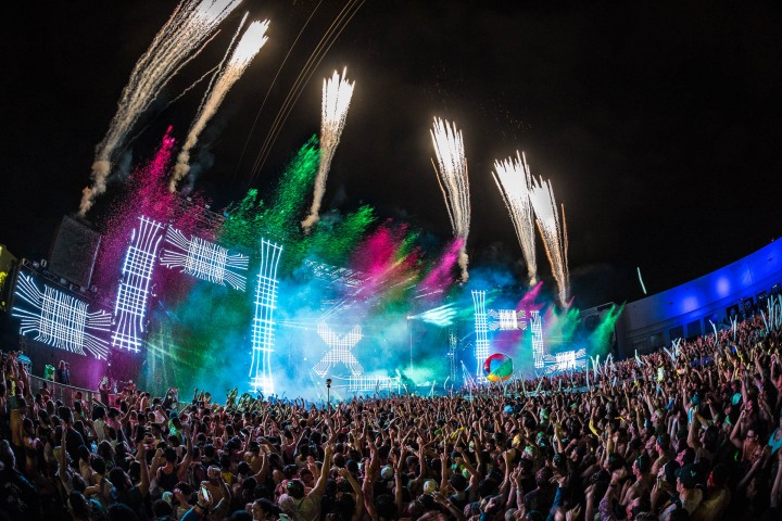 AGP Favorite, EDM, LIC Miami, Life In Color, Music, Paint Party, Pyro