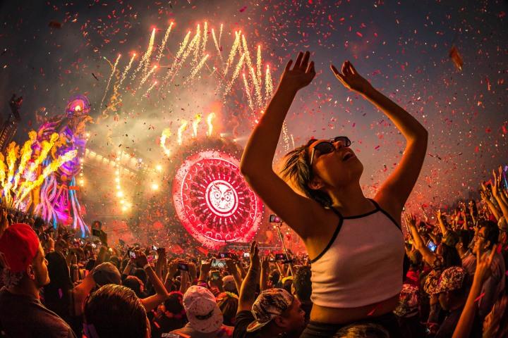 AGP Favorite, Confetti, EDC, EDC Mexico, EDM, Electric Daisy Carnival, Music, Pyro