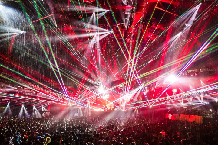 EDM, Lazers, Music, Ultra, Ultra Miami