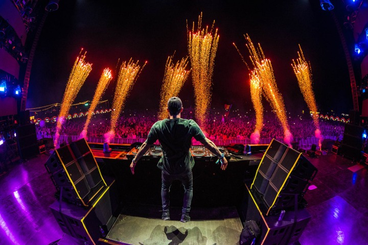 Bassjackers, EDM, Music, Neversea, Pyro