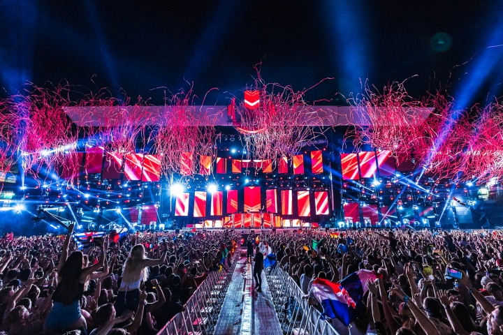 Confetti, EDM, Music, Ultra, Ultra Europe