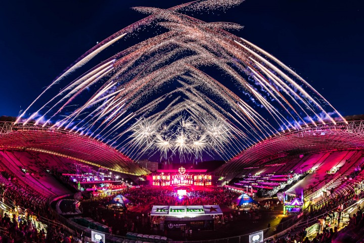 EDM, Music, Pyro, Ultra, Ultra Europe