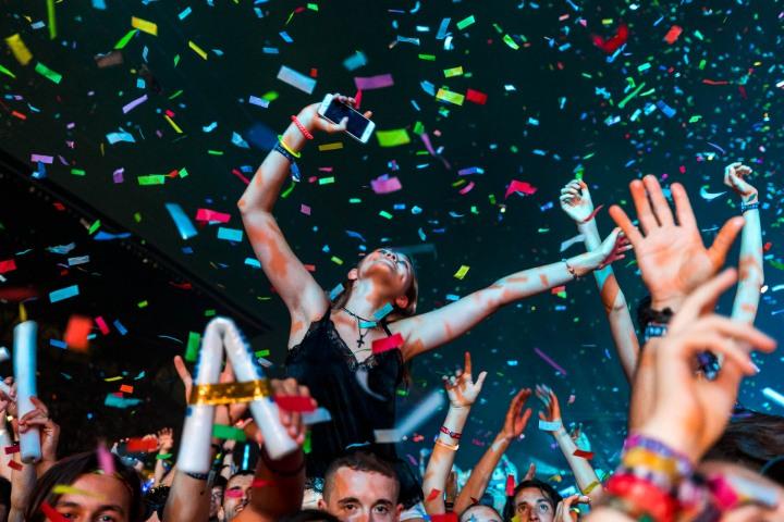 Confetti, EDM, Music, Untold