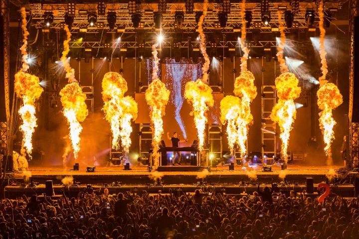 EDM, Fire, Martin Garrix, Music, Pyro, Utopia Island