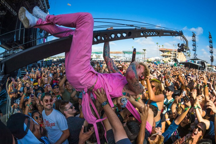 AGP Favorite, KAABOO, Machine Gun Kelly, Music, Rock