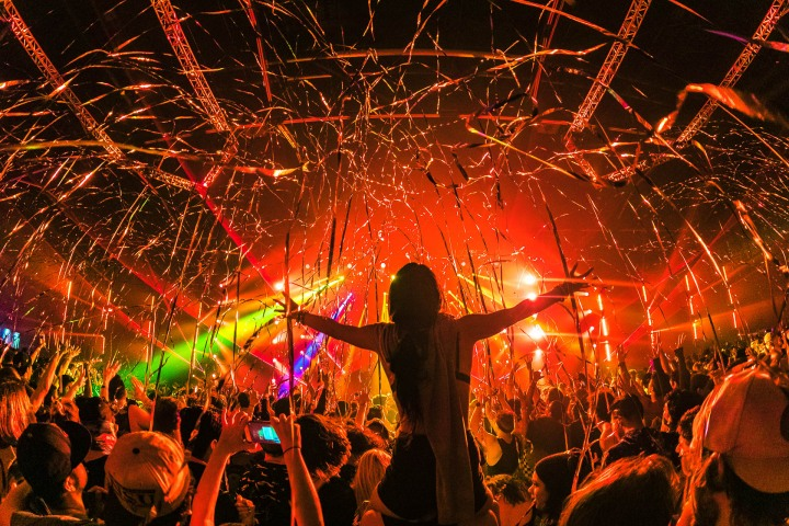 Confetti, EDM, LAN, Lights All Night, Music